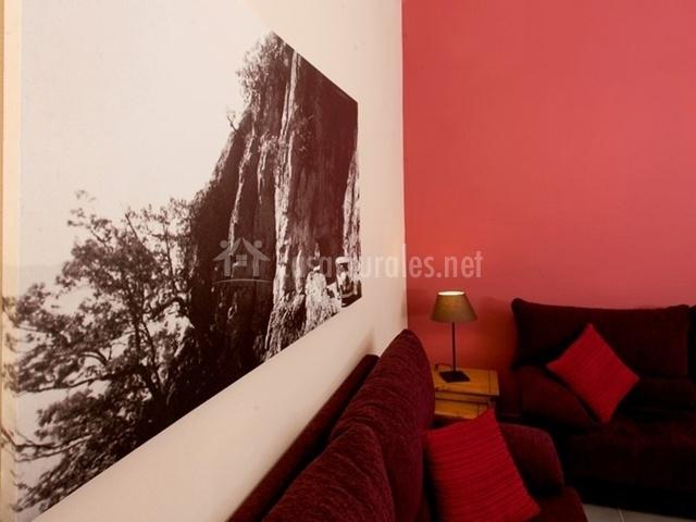 Precioso cuadro decorativo del salón