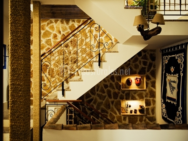 Subida escalera