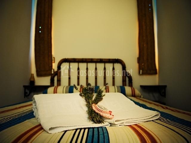 Habitación IV cama de matrimonio