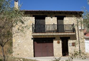 Casa El Rincón de Pascual - El Vallecillo, Teruel