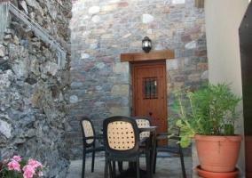 Fachada casa piedra