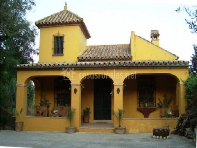 Casa rural huerta de las mayas en hornachuelos c rdoba - Casas con porche ...