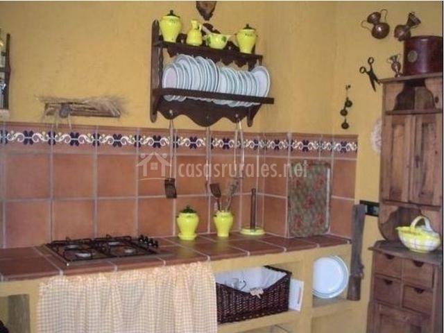Cocinas Con Chimenea Rusticas. Elegant Perfect Beautiful Cocina With ...