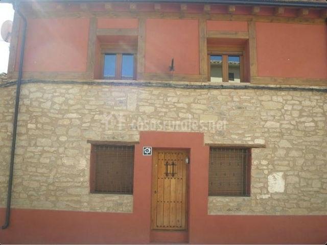 Casa parra en lazagurria navarra - Piedra fachada exterior ...
