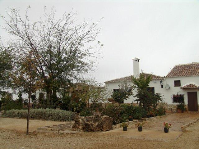 Zona exterior de la casa
