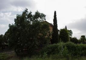 La casa vista desde fuera