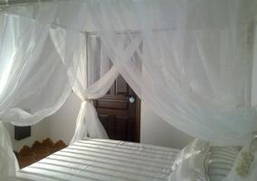 Dormitorio muy romántico