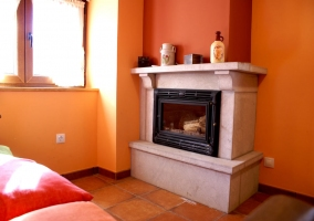 Cabaña de madera del entorno de la casa