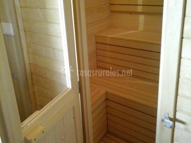 Sauna de la casa