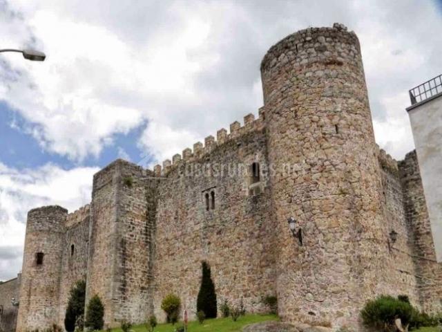Zona del castillo en Arenas de San Pedro