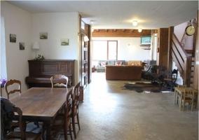 Vista general del salón comedor
