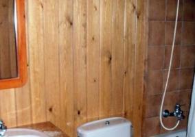 Aseo de la casa en madera