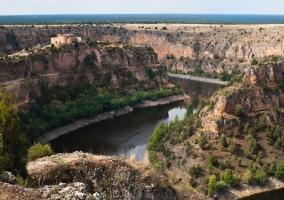 Monasterio de San Frutos en las hoces del río Duratón