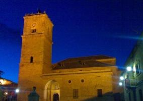Iglesia iluminada