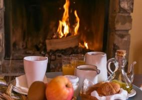 Desayuno suite