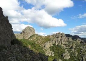 Paisaje típico de la Sierra de Francia