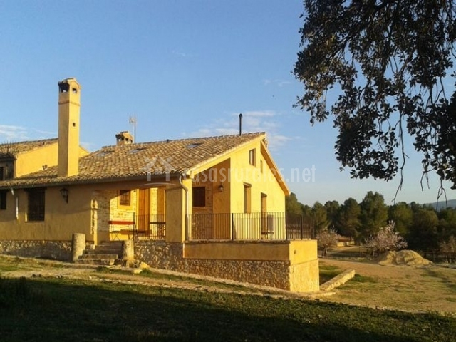 Casa rural la curra en jarafuel valencia - Casa rural cofrentes ...