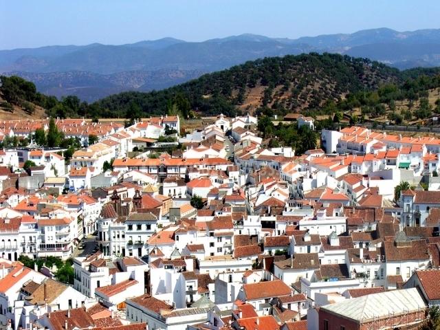 Vista de Aracena