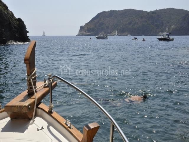 Costa Brava en barco