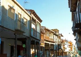 Balcones en sus calles