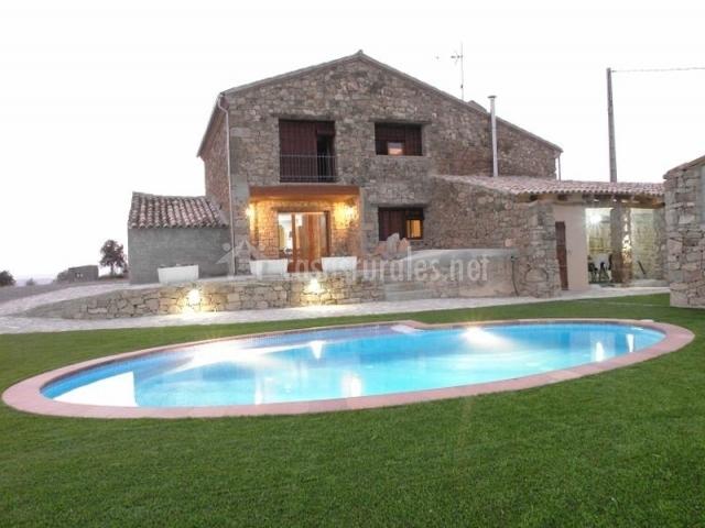L 39 era del rovira casa rural en vilanova de l 39 aguda lleida - Casas rurales lleida piscina ...