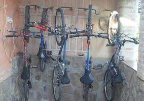 Bicicletas de la casa rural
