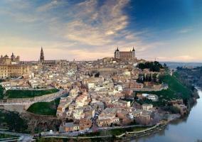 Toledo en vista general