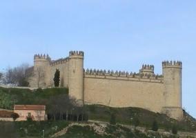 Zona de castillo de Maqueda en los alrededores