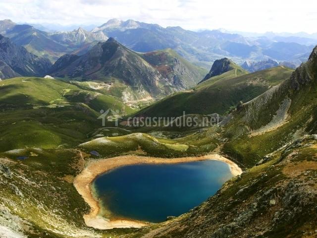 Vista del Parque Nacional Picos de Europa