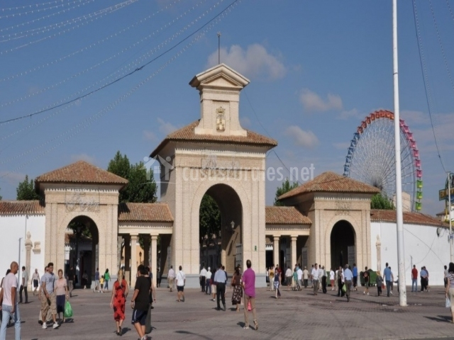 Entrada a la Feria