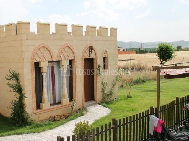 Dormitorio Toledo anexo visto desde la terraza