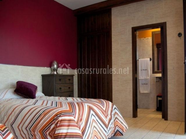 Dormitorio Toledo anexo y sus interiores