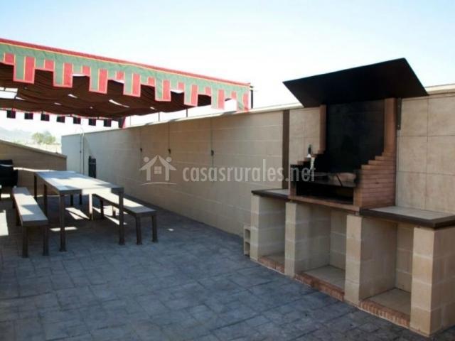 Casa rural la alcazaba en el robledo ciudad real - Barbacoa para terraza ...