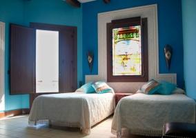Dormitorio Sevilla con salida al exterior