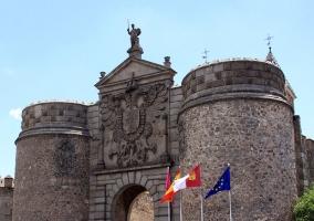 Puerta Bisagra en Toledo