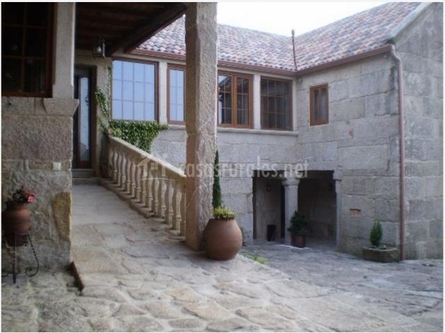 Casa de magina en fornelos de montes pontevedra - Patios rurales ...
