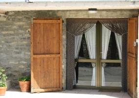 Vistas de la puerta de entrada