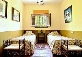 Habitación doble de dos camas - Casa Ronda