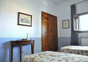 Vista del dormitorio - Casa Ronda