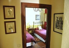 Habitación con dos camas - Casa Ronda