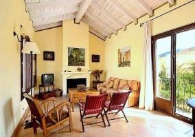 Salón - Casa Yunquera