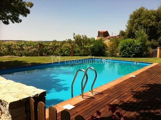 La ventanica del tormes en juzbado salamanca - Vallas de madera para piscinas ...