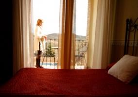 Dormitorio para cuatro con vistas