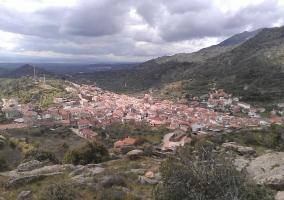 Vista de la localidad y alrededores