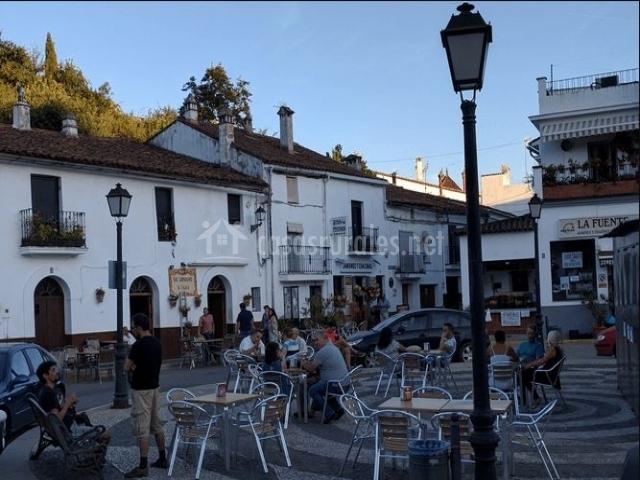 Zona de la plaza en Fuenteheridos