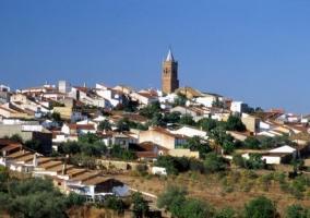 Zona centro del pueblo de Fuenteheridos