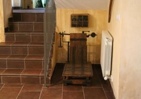 Decoración y escaleras