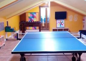 Sala de juegos de los alojamientos