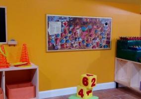 Sala de juegos y sus detalles para el ocio