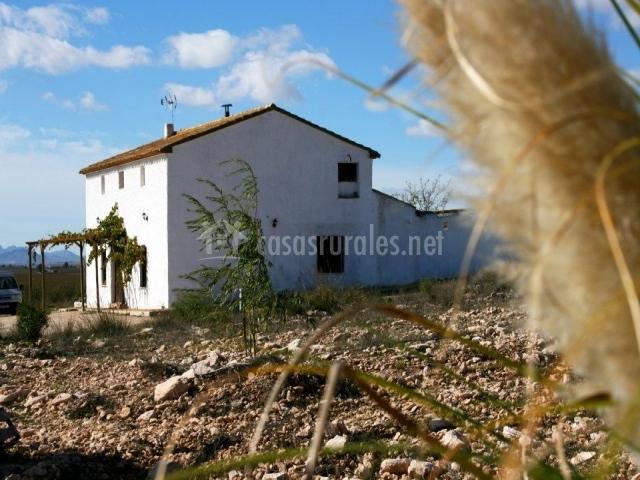 Casa vista de lejos